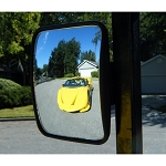 TecScan SEESeasy  MINI GOLF CART REAR-VIEW MIRRORS