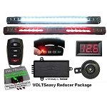 TecScan Remote Control Golf Cart Lights, All-Signals & Voltmeter Kit  VOLT PKG