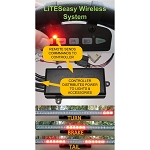 TecScan LiTESeasy Wireless Golf Cart Lights Controller Kit