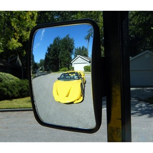 GOLF CART REAR-VIEW MIRRORS SEESeasy  MINI by TecScan